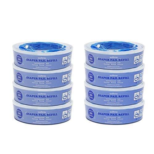 Signstek Odor Lock protezione nursery Fresh Angelcare cassette per ricariche Angelcare pannolino...