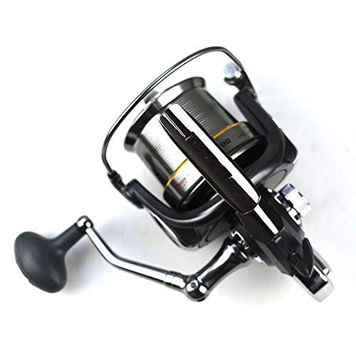 Hifanei Gocce di pesce Mulinello da spinning Mulinello da pesca a traina in metallo Misura del corpo 8000SerieMulinello da pesca grande Mulinelli da spinning