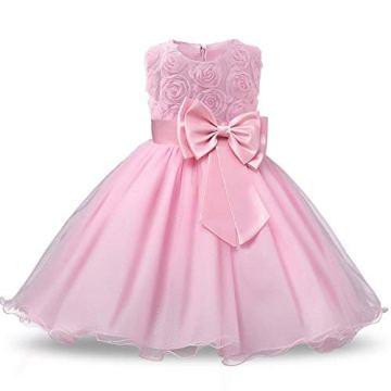NNJXD Vestido de Fiesta Niña,Vestidos para Ninas para Boda,Vestido Ceremonia Niña 3