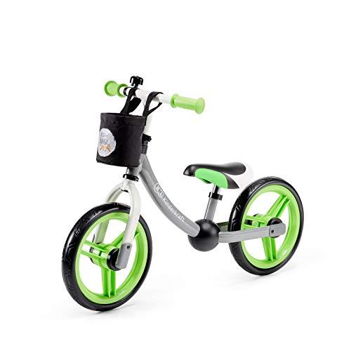 Kinderkraft Bicicletta 2WAY NEXT Bici Senza Pedali 12 Pollici Ruote Telaio in Acciaio con Accessori...