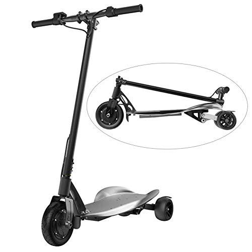 ZDDOZXC Scooter elettrico, scooter elettrico pieghevole a tre ruote, motore potente da 350 W fino a...