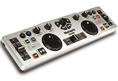 Numark DJ to GO - Controlador DJ USB ultra portátil para Mac o PC
