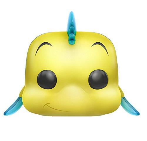 Funko Pop! Disney: La sirenita (Little Mermaid) Polochon / Flounder Figura de acción