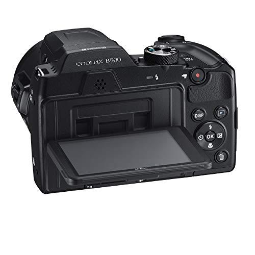 """Nikon COOLPIX B500 - Cámara digital (16 Mp, 4608 x 3456 pixeles, TTL, 1/2.3"""", 4 - 160 mm), color negro"""