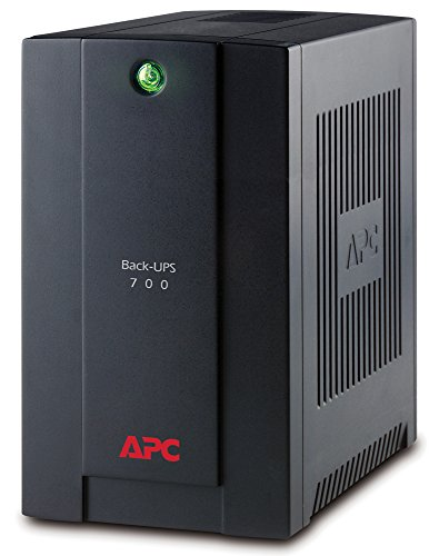 APC Back-UPS BX - BX700UI - Gruppo di continuità (UPS) Potenza 700VA (AVR, 4 Uscite IEC-C13, USB,...