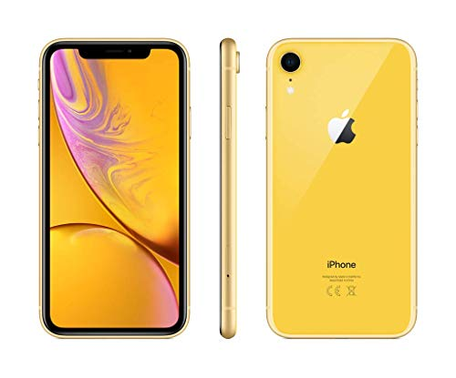"Apple iPhoneXR - Smartphone de 6.1"" (64 GB) amarillo"
