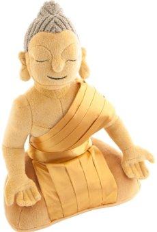 Berk FI-032-B – Figura de Buda para meditar, color marrón