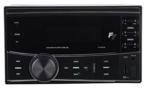 Automaze F7-2018 Universal Car MP3 Player with USB/SD/AUX/Bluetooth with Remote Control