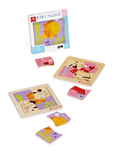 Dal Negro 53808 - Baby Puzzle Granchietto e Pesciolino