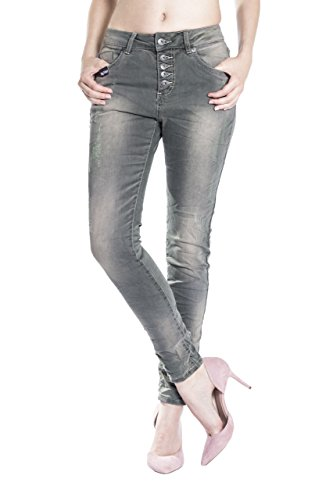 Blue-Monkey-Damen-Boyfriend-Jeans-Maya-1409-dark-green