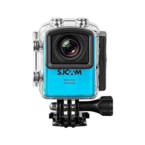 SJCam M20 Action Camera da Sport, 4K, 16 MP, Schermo da 1.5″, Stabilizzazione Gyro, Blu [Versione EU]