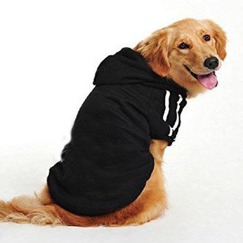 Pullover sportivo con cappuccio Namsan per cani medi e grandi, giacca per cani fatta ai ferri,...