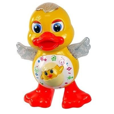 higadgetTM Musical Dancing Duck with Music Flashing Lights and Real Dancing Action