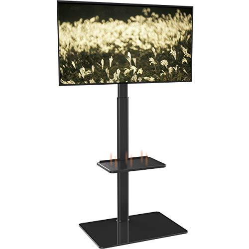 Supporto TV, Mobile TV, con Staffa, Girevole, Regolabile in Altezza, da 19 a 42 pollici LCD LED,...
