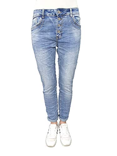 Karostar by Lexxury Denim Stretch Baggy-Boyfriend-Jeans Boyfriend 4...