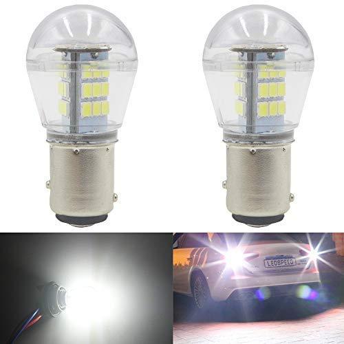 AMAZENAR 2-Pack 1157 BAY15D 1016 1034 7528 2057 2357 LED a Luce Bianca 9-30V-DC, 2835 33 SMD...