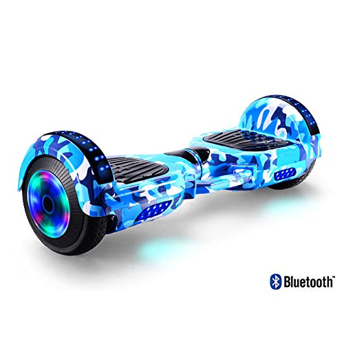 HHORD Hoverboard Autobilanciante Scooter A Due Ruote Auto Bilanciamento Hoverboard con Altoparlante...