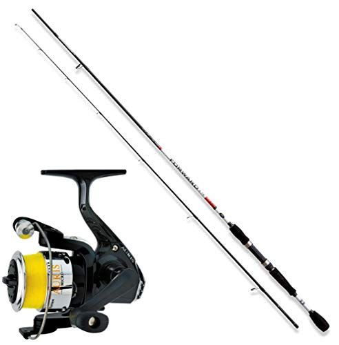 linea-effe Kit Trout Area Canna Forward 180cm Mulinello Trabucco Auris 1000