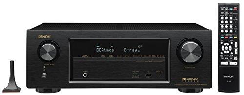 Denon AVR-X1300W 7.2-CH Network AV Receiver with Dolby Atmos, Wi-Fi, Airplay, Bluetooth, 4K & 3D Pass-Through