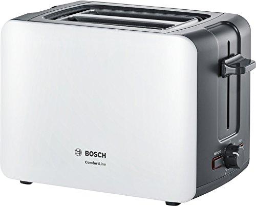 Bosch tat6a111compatto da tostapane Comfort Line, automatica del pane, funzione scongelamento,...