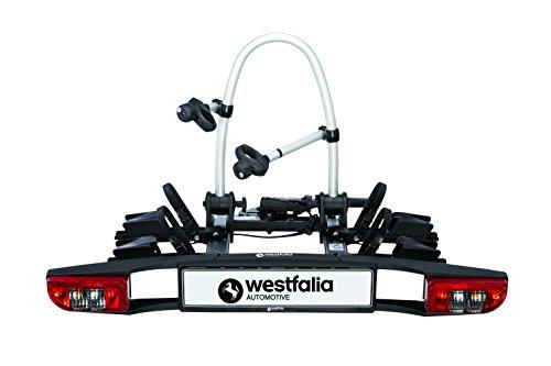 Westfalia 350036600001 BC 60 (Versione 2018) | Portabici richiudibile per 2 Compatibile con Le...