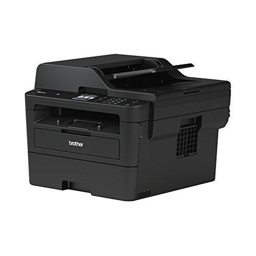 Brother MFC-L2750DW Kompaktes 4-in-1 S/W-Multifunktionsgerät (34 Seiten/Min.Drucken, Scannen, Kopieren, Faxen, A4, echte 1.200x1.200 dpi, Vollduplex, 250 Blatt Papierkassette, USB 2.0, LAN, WLAN, Touchscreen)