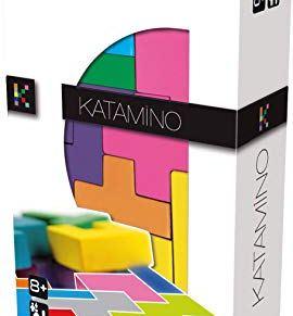 Gigamic 130204 Katamino - Juego de habilidad tamaño bolsillo [Importado de Alemania]