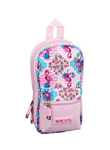 moos Flamingo pink Ufficiale astuccio con 4astucci 120x 50x 230mm