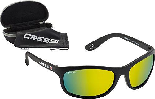Cressi ROCKER, Sonnenbrille Sport Herren Polarisiert, Mit Hardcase