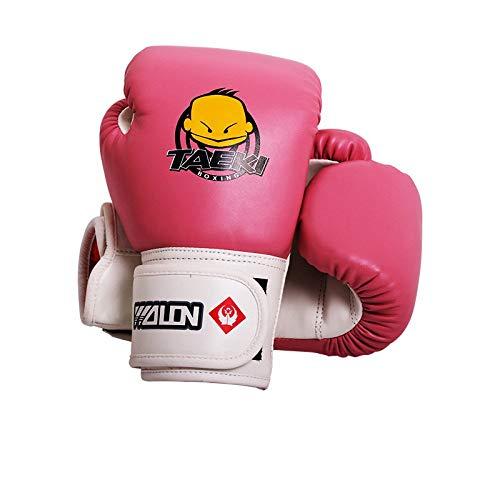 Guantoni da boxe per bambini Muay Thai Kick Boxing Guanti da allenamento Sacco da boxe Combattimento...