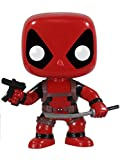 Funko- Comics Pop Bobble Marvel Deadpool, 3052