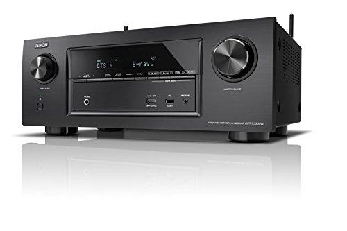 Denon AVR-X3300 Sintoamplificatore HD con Dolby HD e DTS:X, Nero