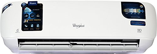 Whirlpool 1 Ton 3 Star Split AC (Copper, 3D Cool HD, Snow White) with free standard installation*