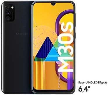 """Samsung Galaxy M30s Smartphone 64GB 6.4"""" FHD+ Android 9 Pie - Deutsche Version - Schwarz [Exklusiv bei Amazon]"""