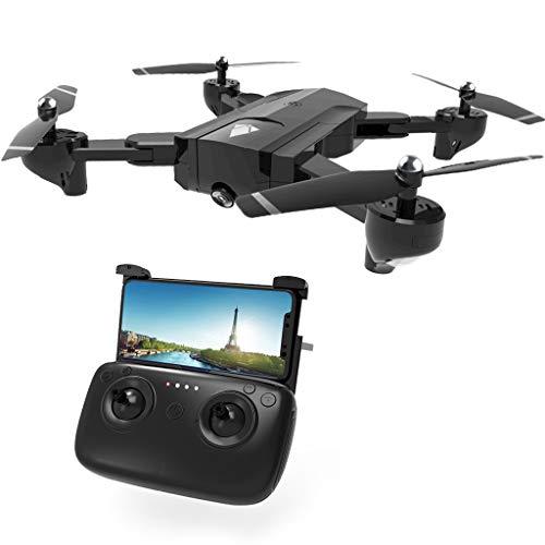 xiuginFU Drone SG900 RC con Videocamera 4K FPV WiFi Droni RC Trasmissione in Tempo Reale Elicottero Quadcopter con Ritorno Automatico