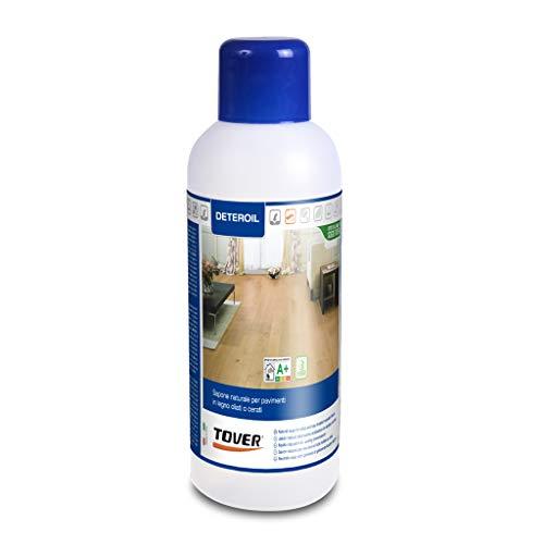 Deteroil Lt. 1 -Sapone naturale indicato per la pulizia frequente dei parquet oliati
