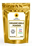 Organic Amla Berry Powder 250g - Indian Gooseberry - Premium Grade - Soil Association Certified - £7.99 Free Delivery