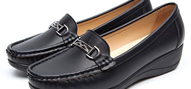 22867f39414 Los mejores 10 Zapatos Mujer Negros Planos - Guía de compra, Opiniones y  Análisis en 2019 - Losmejoreslista.com