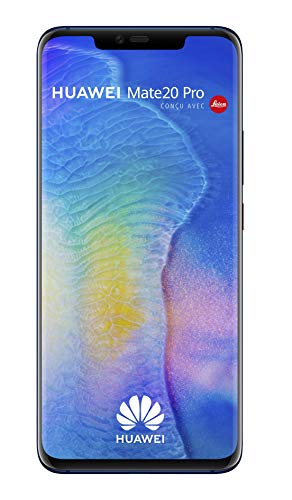 Huawei Mate 20 Pro 16,2 cm (6.39') 6 GB 128 GB Dual SIM ibrida 4G 4200 mAh, Colore : Blu (Midnight Blue)