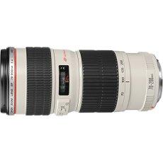 Canon EF 70-200MM F/4L USM - Objetivo para Canon (distancia focal 70-200mm, apertura f/4, diámetro: 67mm) color blanco