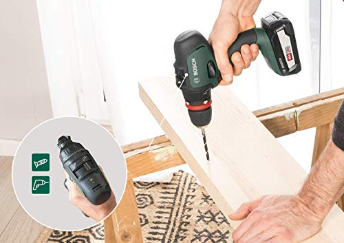 Bosch 06039B5004 Perceuse-Visseuse Sans Fil AdvancedDrill 18 (sans Batterie, Système 18V,dans une Boîte en Carton)