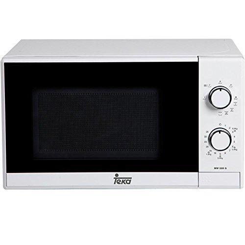 Teka MW 225 G – Microondas con grill, 1050 W, color blanco