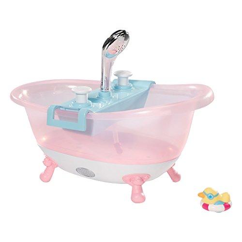 Baby Born 30877–Bañera Interactive alcachofa de ducha, efectos de luces y sonidos