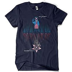 1589-Camiseta Stranger Things - i Am Upside Down (Legendary P,)