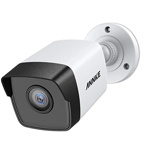 ANNKE 5MP POE Überwachungskamera, H.265+ HD Wasserfest IP Kamera für Haus Sicherheit Innen Außen...