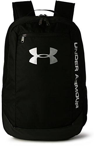 Under Armour UA Hustle Backpack LDWR Mochila, Hombre, Negro (001), One Size