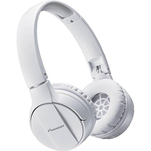 Pioneer SE-MJ553BT-W - Auriculares Tipo botón (con micrófono, límite de eficacia 100dB)