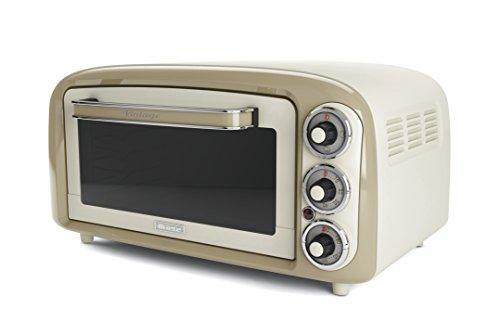 Ariete 979 Vintage - Forno Elettrico di Design 18 Litri, Idoneo per pizza da 30 cm, 1380W, 3...