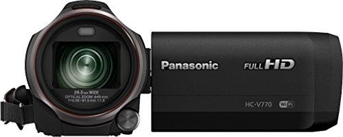Panasonic HC-V770EG-K Videocamera Full HD, Wireless Twin Camera, Grandangolo 29.5 mm, Tecnologia...