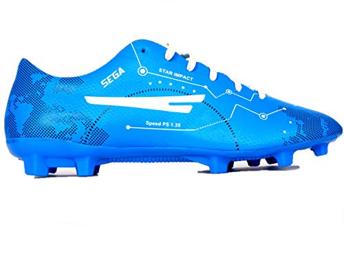 SEGA Mark Men's Football Shoe Blue